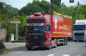 Scania sur les routes....