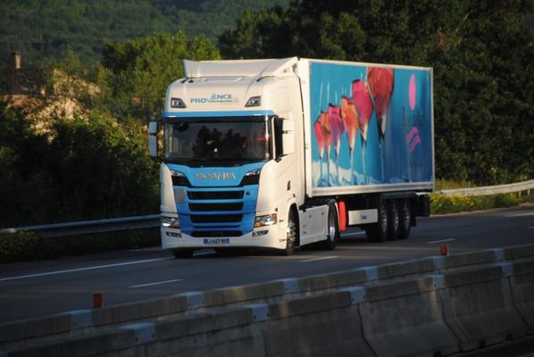 Scania sur nos routes de France.