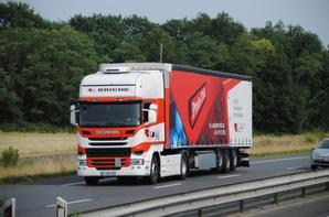 Les Scania à travers nos routes.