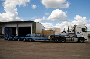 Transport Vidil. Volvo FH540.