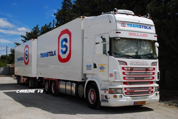 Transtolk R500. Relai de Donzère. Août 2017.