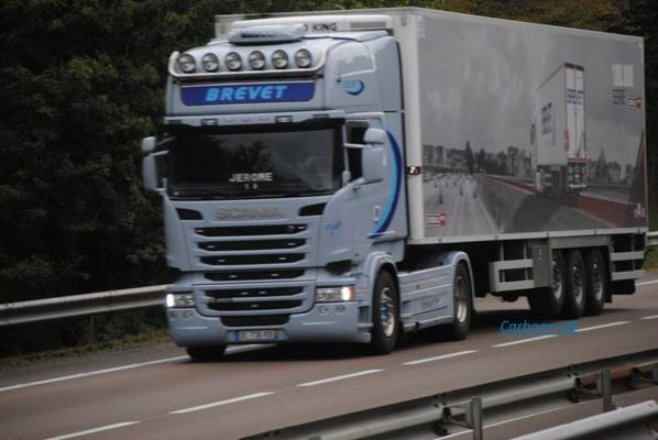 Les Scania frigorifiques.