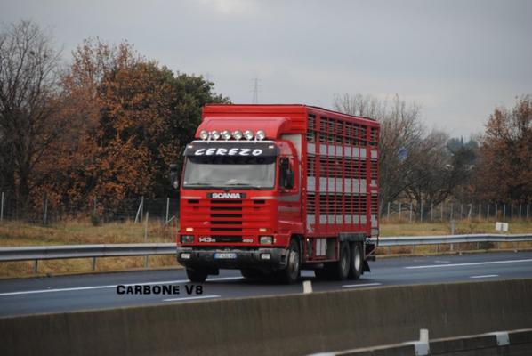 Scania Série 3 croisé cette semaine.