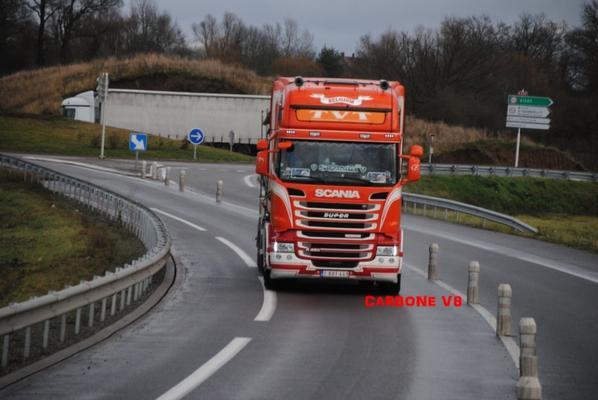 Tranport TVT sur les routes de l'Allier.