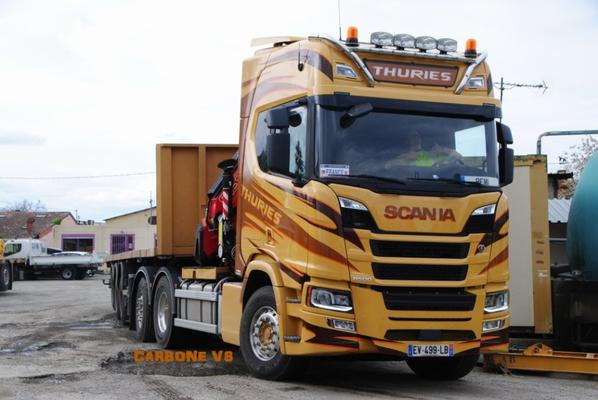 Transport Thuries. Scania R500.