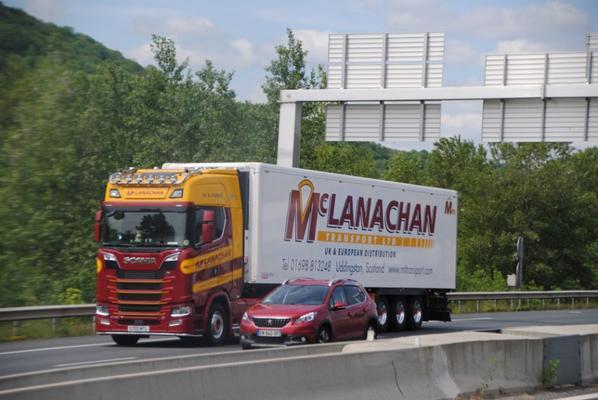 Transport Mc Lanachan. Scania S.