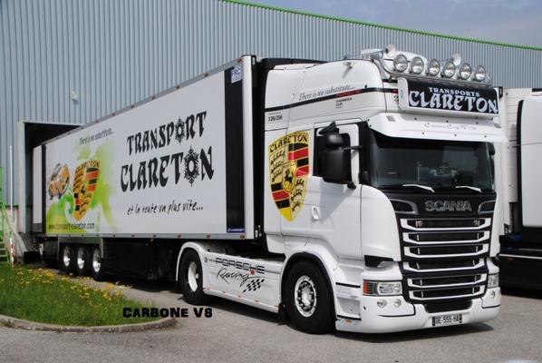 Transport Clareton. Série spécial Porsche.