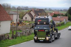 Les Scania sur nos routes.