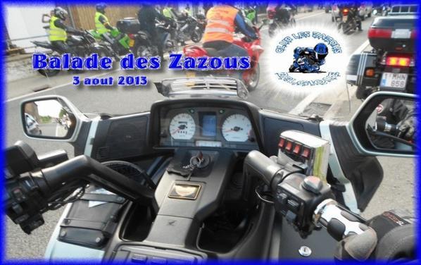 Balade des Zazous ce samedi 3 août :0)