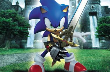 sonic a l'épée et shawdos au fusil