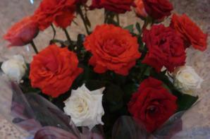 2011 BOUQUET DE ROSES ET SAPIN