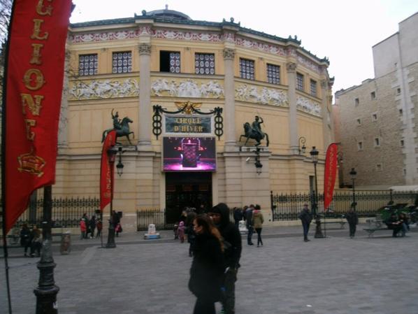 expo maquette cirque d hiver BOUGLIONE