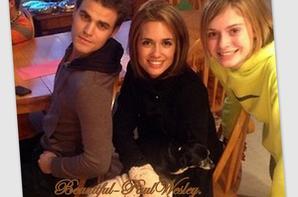27/11/12 Paul et sa femme Torrey DeVitto ont passés Thanksgiving tous les deux dans la famille de Torrey