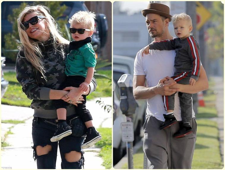 Fergie & son fils Axl