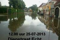 Wolkbreuk !  25-07-2013