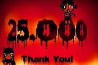 25.000 Bezoekers Bedankt !!  Merci !!