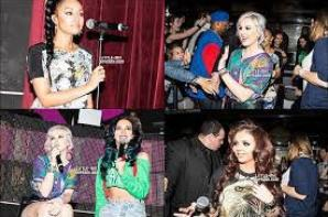 Les Little Mix à Paris