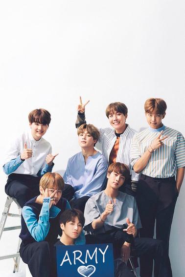 Je vous presente mon groupe préférée BTS
