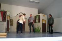 repetition de la piece de theatre