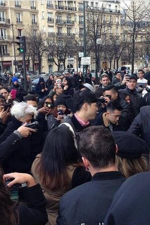Taeyang et GD sont à Paris, mais pas pour longtemps !!