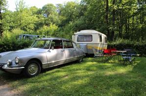 arrive au camping de la foret a sille le guillaume