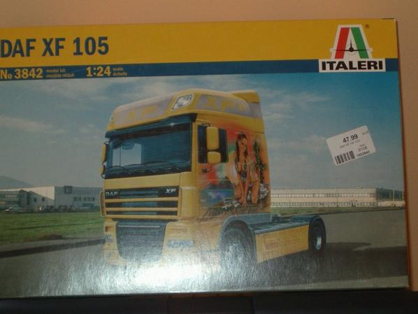 2eme maquette Daf XF 105 Space cab