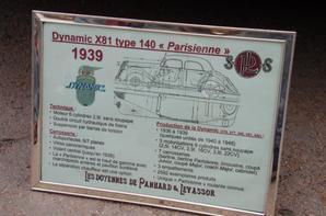PANHARD DYNAMIC X81 TYPE 140 (1936-1939)