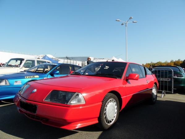 ALPINE V6 TURBO (1985-1991) 17EME SALON DE LA VOITURE ET DE LA MOTO DE COLLECTION AUTOMÉDON LE BOURGET 2017