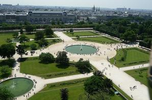 Le jardins des Tuileries