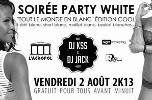 Soirée Party White & Cabo Verde Is Beautiful A L'ACROPOL