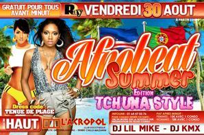 Dj Jack B'day & Afrobeat Summer Édition Tchuna Style