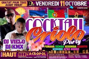★ VENDREDI 11 OCTOBRE ★ LES NOUVELLES VOIX DU ZOUK 2013 & COCKTAIL & CRIOLO PARTY A L'ACROPOL