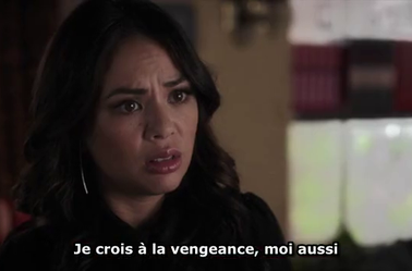 Leslie menace Mona !!! pll 6x5