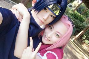 Cosplay: Sasuke and Sakura N°01