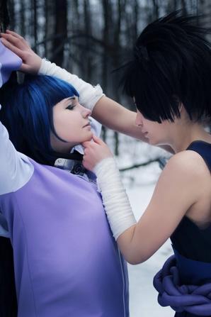 Cosplay: Sasuke and Hinata N°01