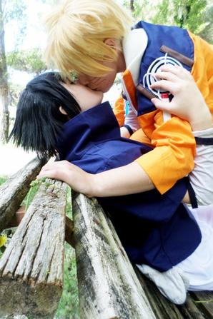 Cosplay: Naruto and Sasuke N°01