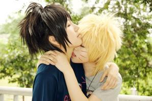 Cosplay: Naruto and Sasuke N°01