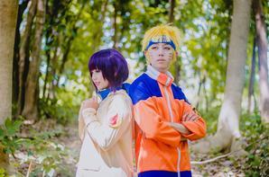 Cosplay: Naruto and hinata N°01