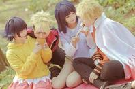Cosplay: Naruto and Hinata Family N°01