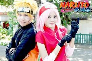 Cosplay: Naruto and Sakura N°01