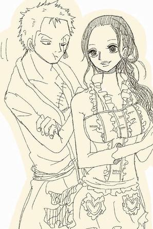 Zoro and Robin N°01