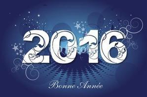 BONNE ET HEUREUSE ANNEE 2016