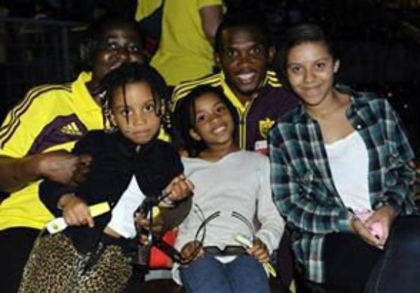 eto'o family