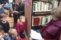 L'HEURE DU CONTE du mercredi 16 janvier 2015 pour les plus petits à la bibliothèque