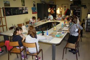 L'atelier de Peinture du Samedi