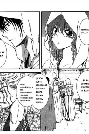 Traduction Page 1 et 2 chapitre 135 Akatsuki no Yona