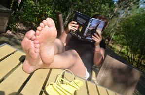 nouvelle photo de pieds de nathalie