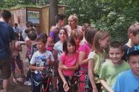 Journée accrobranche au Natura Parc de l'Eau d'Heure