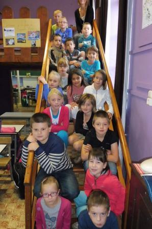 La classe de 3 et 4ème primaire