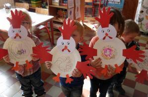 Quelles sont  jolies nos poules!